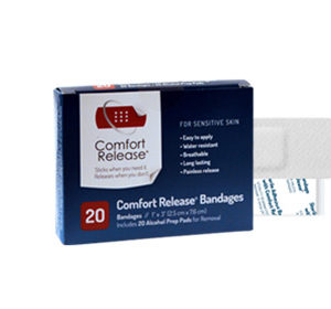 Comfort Release 1 Inch Bandages